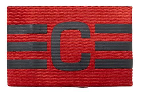 [adidas(アディダス)]サッカーウェア キャプテン アームバンド(CO254) メンズ スカーレット/ダークグレー(CF1053) 日本 OSFX (FREE サイズ)