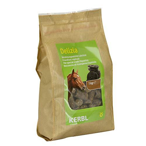 Kerbl - Friandise Delizia réglisse 1 kg pour Chevaux - KE-325017