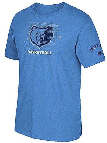 Memphis Grizzlies azul Adidas clave a Victoria para hombre camiseta de manga corta T, hombre Unisex, azul