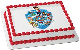 Whimsical Practicality Paw Patrol Yelp for Help Edible Cake Icing Image for 8