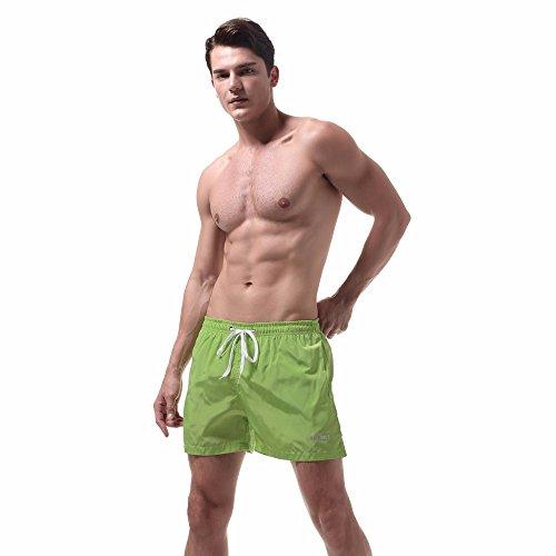Quick Dry Swim Trunks Classics Block Swim Swim Swim Zwemshorts voor heren, ademende zwembroek - - L