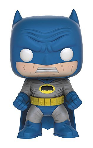 Pop Heroes Dark Knight Returns Batman Blue Vinyl Figure