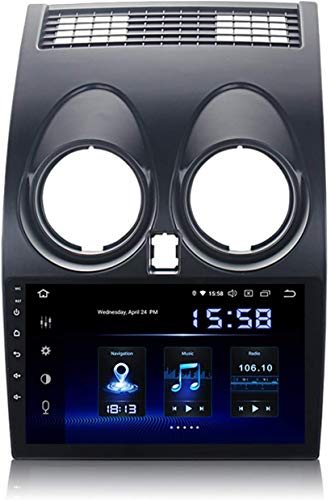 MIVPD 9 Pulgadas IPS Pantalla táctil Auto Sat Nav Car Stereo STC Map Mult Multimedia Player GPS Head Unit NAVEGACIÓN Android 10.0 Compatible para Nissan Qashqai J10 2008-2014,4 Core 4G+WiFi 2+32GB