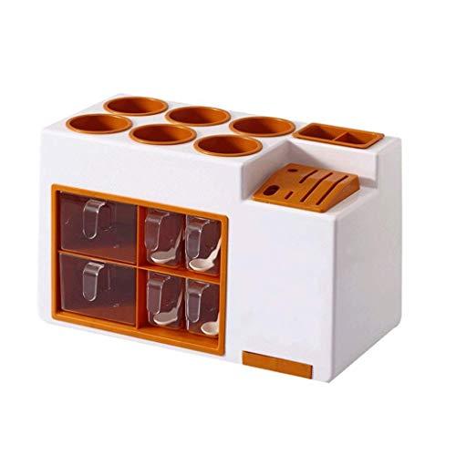 WSJ Boîte de rangement multifonction pour bouteille de condiments de cuisine - Type de tiroir - Boîte de rangement pour condiments - Couleur : B), b