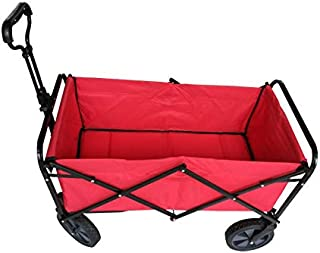 Folding multi-function shopping cart R-2022 RED