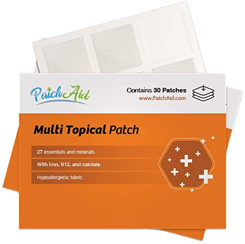 Multi Plus Topical Patch by PatchAid (1-Month Supply)