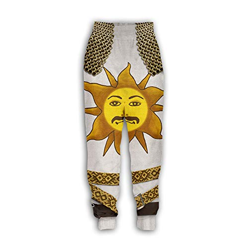 Heren/Dames Joggers - 3D Digital Armor Pattern Sweatpants Ethnic Totem Patterns Pants