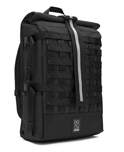 Chrome Industries Barrage Cargo Laptop Backpack Waterproof Bag 22 Liter Black