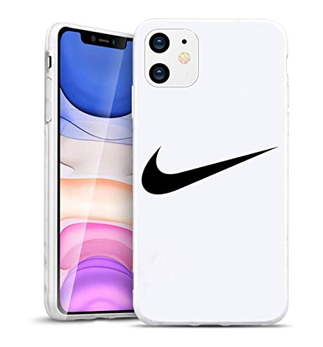 Just Do It Logo Protection iPhone 11 Pro Max Hülles, Nik Logo Hülle Cover for Apple iPhone 11 Pro Max, Phone Hülle Cover for Nik, Weiches TPU Weiß