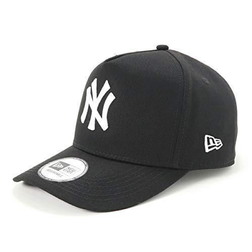 (ニューエラ) NEW ERA キャップ スナップバック 9FORTY MLB ニューヨークヤンキース ブラック/ホワイト FREE