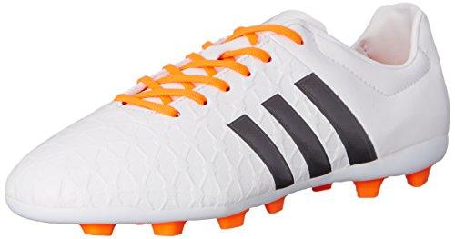 adidas Performance Women's Ace 15.4 Soccer Shoe, Frozen Green/White/Flash Green, 5 M US