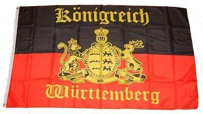 Fahne/Flagge Königreich Württemberg NEU 150 x 250 cm