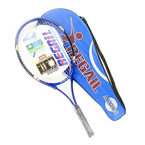 MLPNJ 2 Farben Wählen Sie High Adult Tennisschläger mit Tragetasche Anfänger Schläger Frauen Tennis Sport Trainingsübungen