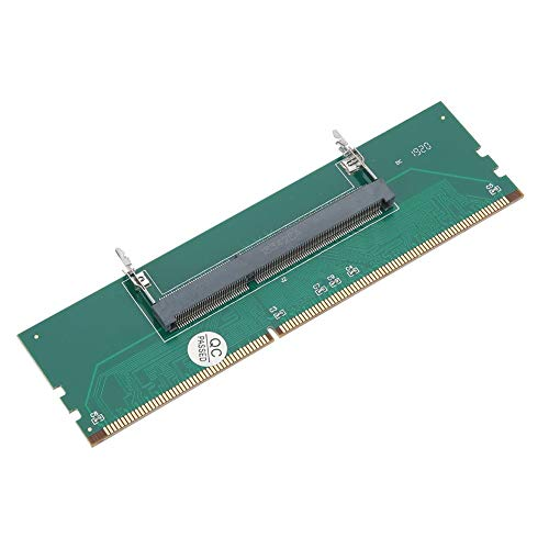 ASHATA Laptop DDR3 RAM naar Desktop Adapter Kaart, Laptop SO-DIMM naar Desktop DIMM Memory RAM Connector Adapter