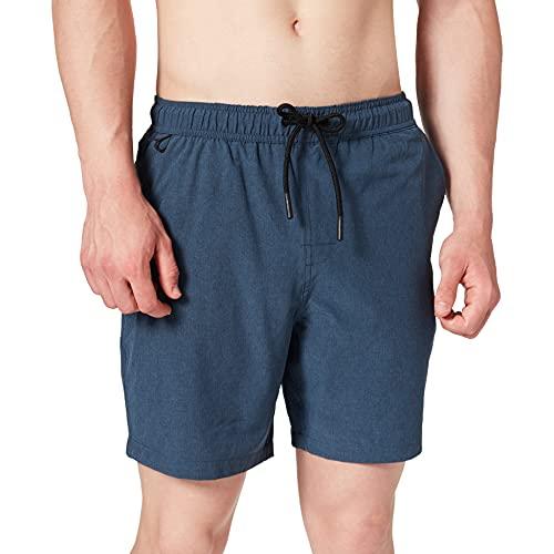 Springfield Lycra Bañador para Hombre, Azul Medio, M