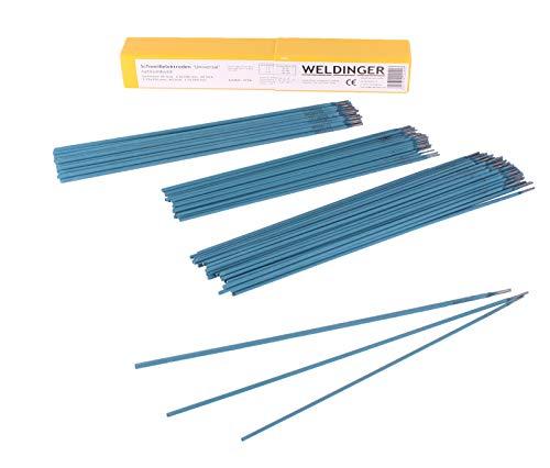 Schweißelektroden WELDINGER Universal Sortiment im Kunststoffköcher 2,0/2,5/3,25 mm (Stabelektroden auch verzinkter Stahl)