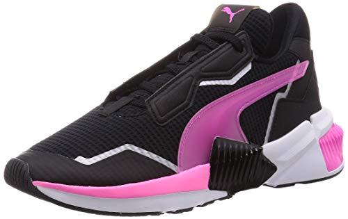 PUMA Provoke XT WN'S, Zapatillas de Gimnasio Mujer, Negro Black/Luminous Pink White, 37.5 EU