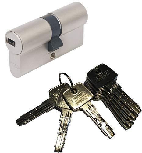 ABUS EC550 Profil-Doppelzylinder Länge (a/b) 30/30mm (c=60mm) mit 8 Schlüssel
