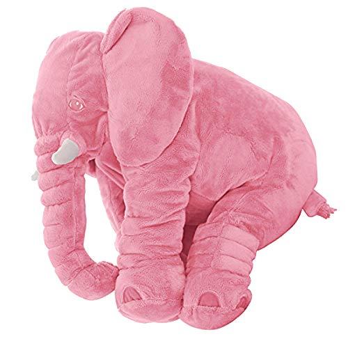 DearJoy Baby Elephant Pillow (Pink)
