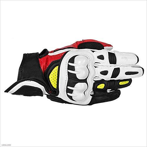 XHHWZB Unisex BMX MX ATV MTB Racing Mountain Bike Bicicleta Ciclismo Off-Road/Dirt Bike Guantes Road Racing Motocicleta Motocross Deportes Guantes Touch Recognition Full Finger Glove