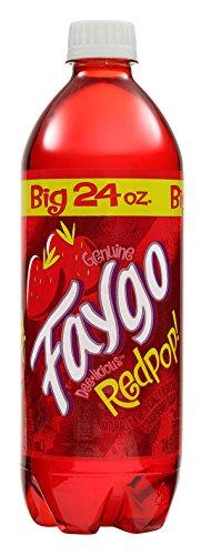 Faygo Red Pop, 24 oz Bottles (24 Pack)
