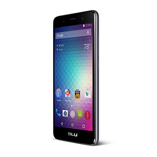 BLU Advance 5.0 HD Unlocked Dual Sim Smartphone US GSM (Grey)
