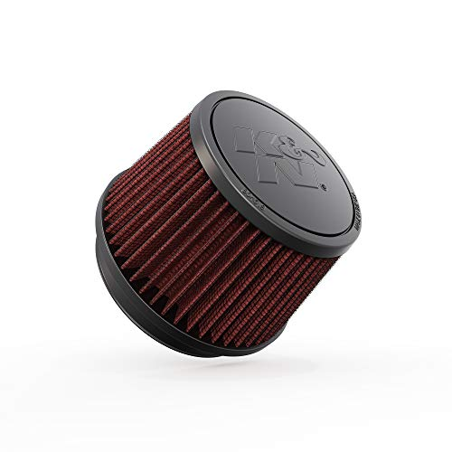 K&N Universal Clamp-On Air Filter: High Performance, Premium, Washable, Replacement Filter: Flange Diameter: 4 In, Filter Height: 3.5 In, Flange Length: 0.625 In, Shape: Round Tapered, RU-2510