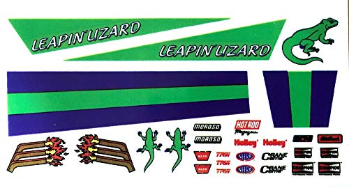 Leaping Lizard Decals