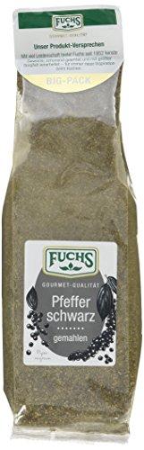 Fuchs Pfeffer schwarz gemahlen, 1er Pack (1 x 200 g)