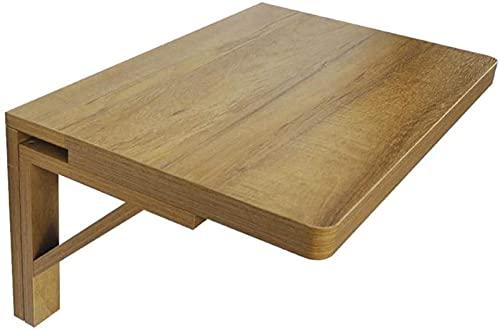 Mesa de Pared con Plegado de Hojas de Gota, Mesa de Comedor de Cocina Pesada con Soporte de triángulo Estable, Carga máxima 50kg (Color : L×w, Size : 60×40cm)