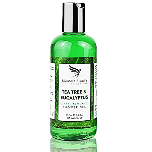 Tea Tree Oil Antifungal Soap – [Made In UK] 100% Natural | Shower Gel Body...