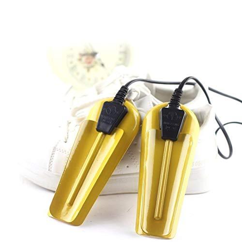 ZHHAOXINPA Ajustable Secador De Botas, Calzado Portátil para Mujer Dama Calentador De Botas Dispositivo De Desodorante Clásico, Yellow