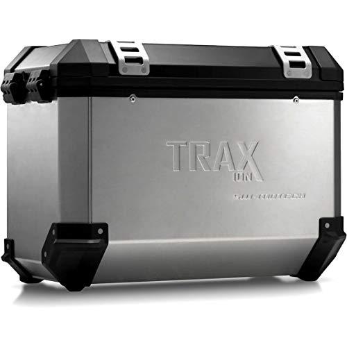 SW-MOTECH TRAX ION L Aluminium Seitenkoffer, 45L, Links, Silbern