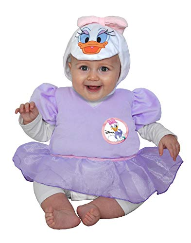 Ciao- Paperina Daisy Duck Costume Originale Disney Baby (Taglia 6-12 MESI) Disfraces, Color (11261.6-12)