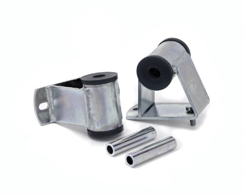 """Daystar, Jeep Wrangler Polyurethane 6 Cylinder Motor Mount 1"""" Taller than stock, fits TJ and YJ 1987 to 2006 4WD, KJ01005BK, Made in America,Black"""