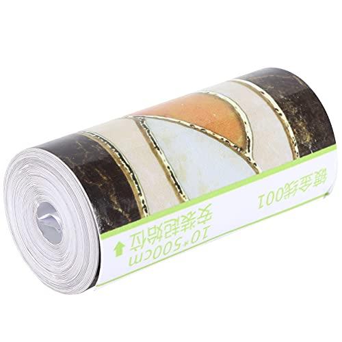 Calcomanías de pared, mejoras para el hogar, uso a largo plazo, adhesivo para pared, diseño adhesivo duradero, papel tapiz para decoración del hogar