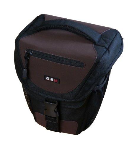 GEM BSUNCP900 Estuche para cámara fotográfica Cubierta de Hombro Negro, Azul, Gris - Funda (Cubierta de Hombro, Nikon, Coolpix P900, Tirante para Hombro, Negro, Azul, Gris)