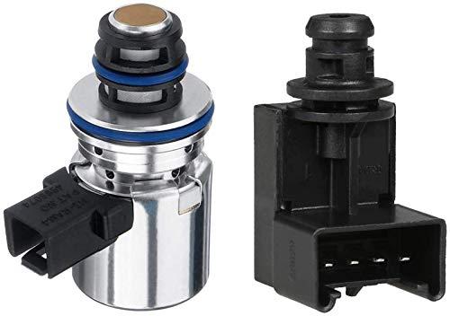 4617210 56028196AD Transmission Pressure Sensor Governor EPC Solenoid Kit Fits for 2000-UP Dodge Ram Grand Cherokee 42RE 44RE 48RE 2000-2008