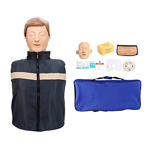 PLOKN CPR Medio Cuerpo cardiopulmonar reanimación simulador CPR First Aid Training Manikin
