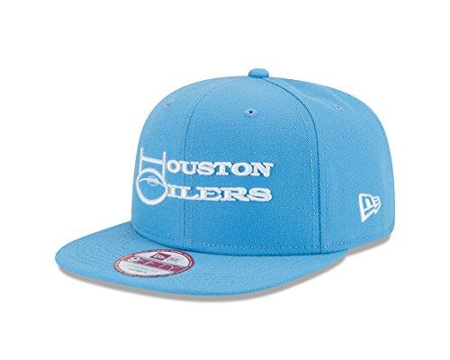 New Era NFL Historic Baycik Snap 9FIFTY Original Fit Cap, Baby Blue, One Size