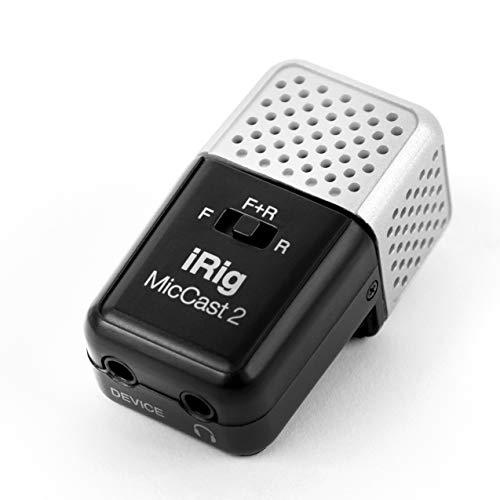 IK Multimedia iRig Mic Cast 2 モバイル用アナログ接続マイク ポケットサイズ【国内正規品】