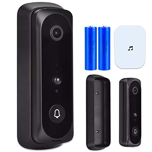 HSTD Wi-Fi Video Doorbell, Doorbell Camera Motion Activated...