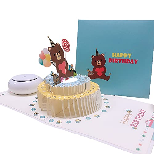 誕生日カード 立体グリーティングカードフラワーポップアップカードお誕生日カード子供向けお誕生日カード母親向けお誕生日カード父親向けお誕生日カードお友達向けお誕生日カード3Dグリーティングカードポップアップカードお祝いカードメッセージカード