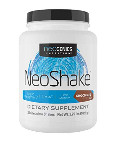 NeoShake Chocolate - 30 Servings - Optimum Nutrition Whey Protein Isolate Best Tasting Keto Friendly Meal Replacement Shakes Weight Loss Low Carb Lean