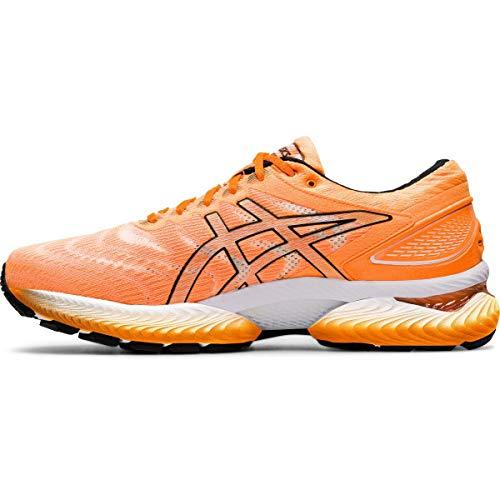 ASICS Gel-Nimbus 22, Zapatillas para Correr Hombre, Naranja Pop Negro, 45 EU