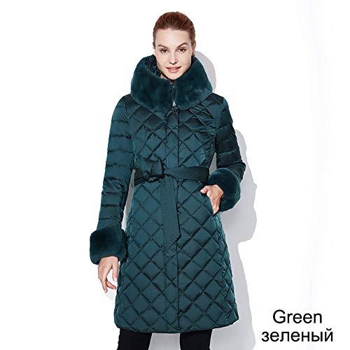 DPKDBN Damesjack Dons Winter Lange Parka Vrouw Jas Vrouwelijke Warm Bovenwerk Plus Size Down Overcoat Mode