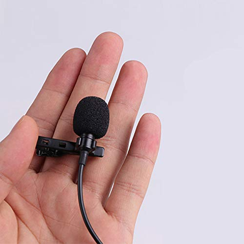 Lavalier Microphone - Portable Mobile Clip Lapel 3.5mm Mini Mic, Used for Recording