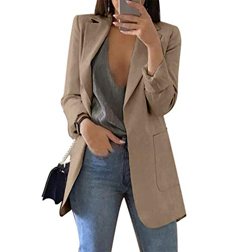 Syfinee Women Casual Blazer Slim Business Blazer Suit