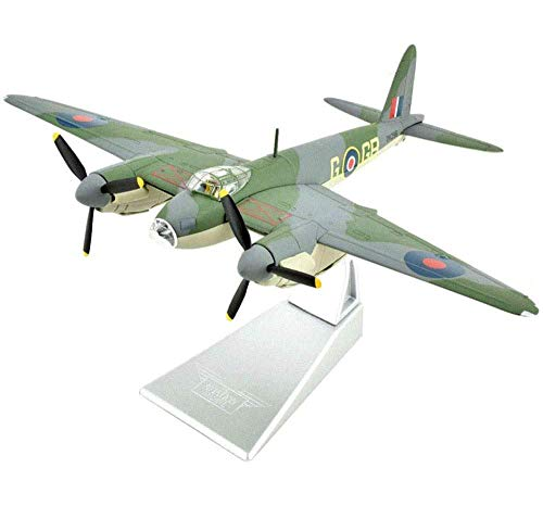 XHH Modelo de avión Military Fighter Alloy Die Cast Model1 / 72 Scale De Havilland Mosquito B.MK IV RAF ModelAdult Toys and Decorations6.9Inch X 9.1Inch