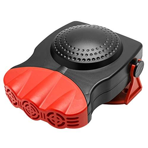HehiFRlark - Calefactor eléctrico para coche, ventilador de refrigeración de 12 V, secador de parabrisas, antivaho